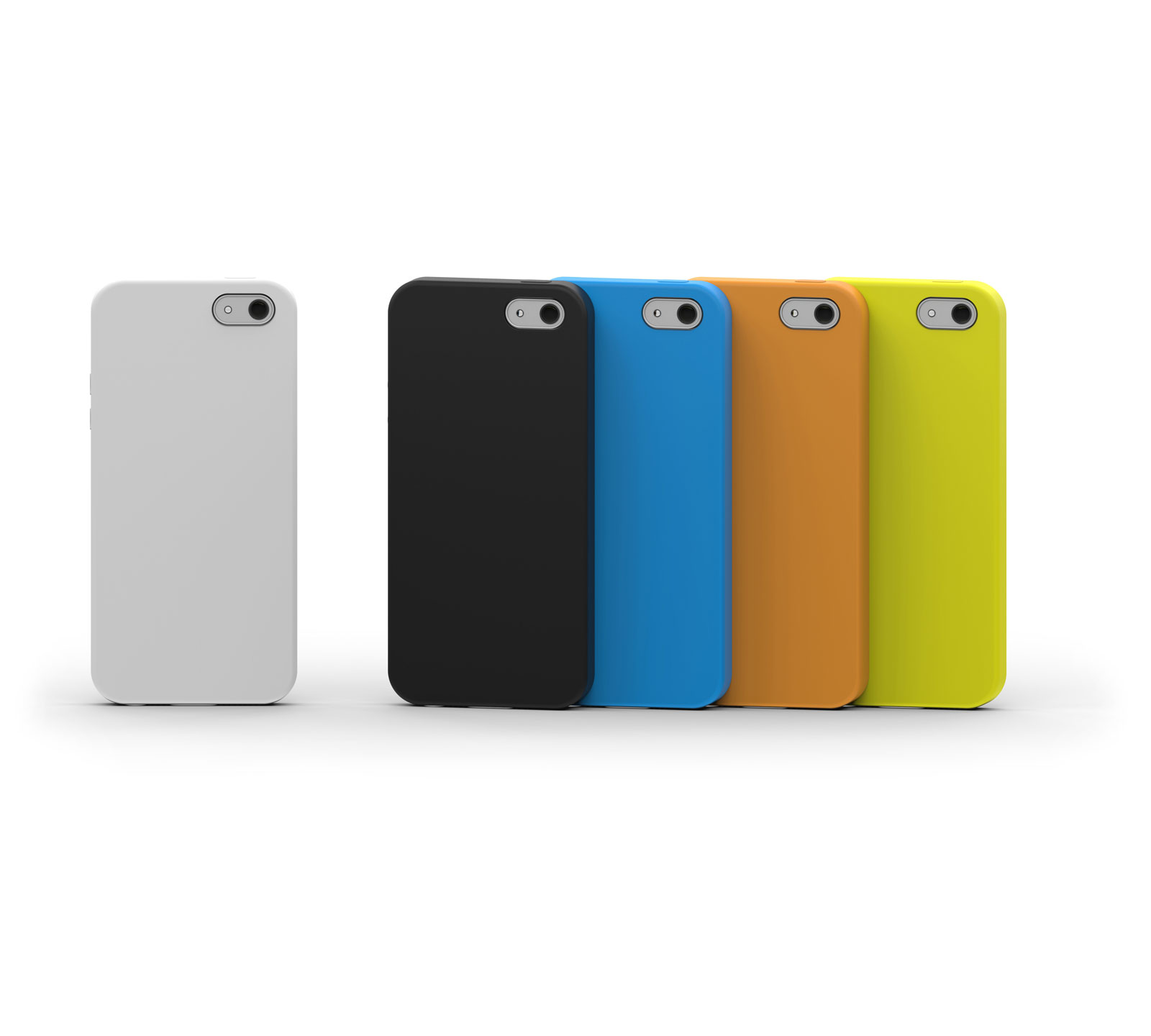image of colorful phone cases