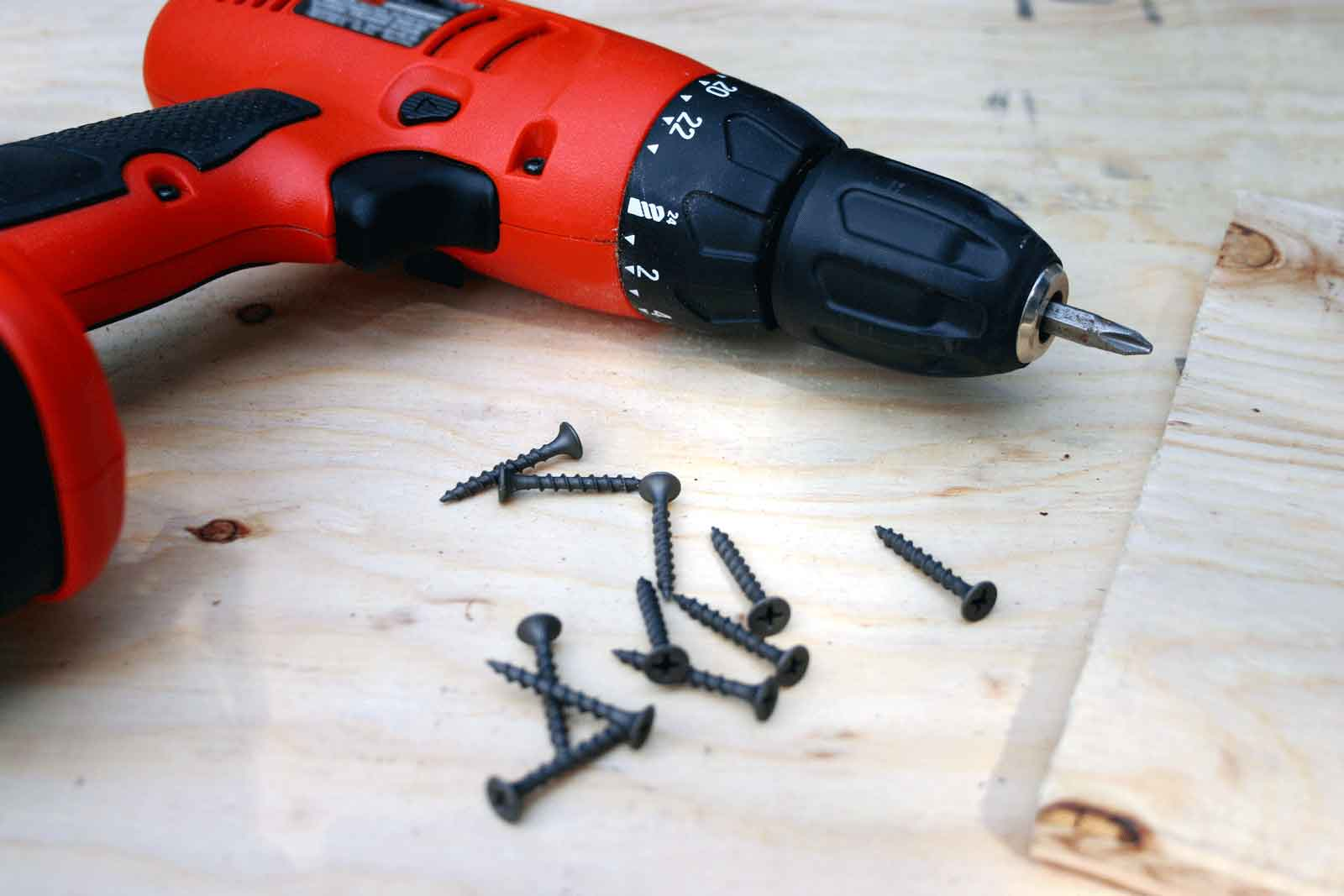 image of drill and nails